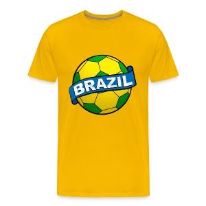 Brazil sport supporter - Men's Premium T-Shirt