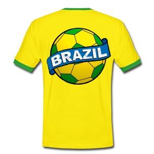 Brazil sport supporter - Men's Ringer Shirt