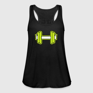 Dumbbell Tops - Women's Tank Top by Bella