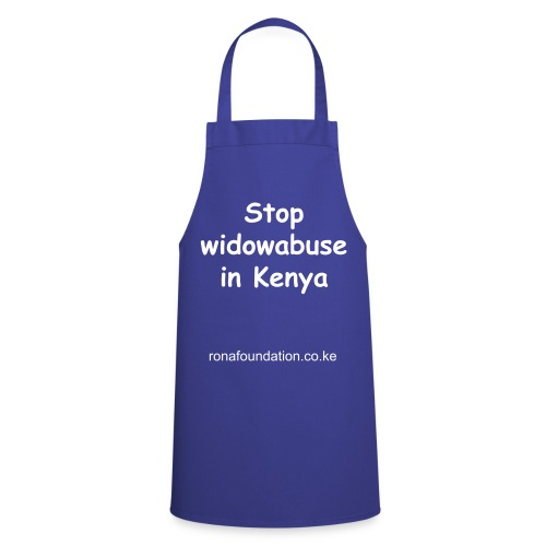 Aprin stop widowabuse - Cooking Apron