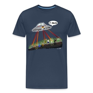 UFO - Germanizing Encounters - Men's Premium T-Shirt