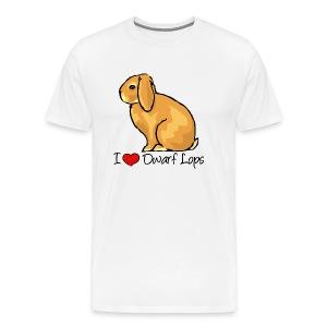 Dwarf Lop - Men's Premium T-Shirt