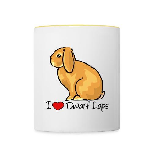 Dwarf Lop - Contrasting Mug
