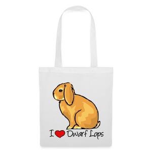 Dwarf Lop - Tote Bag