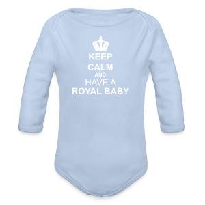 Body bimbo/a - Body ecologico per neonato a manica lunga
