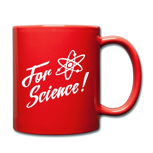 For Science - the mug - Full Colour Mug