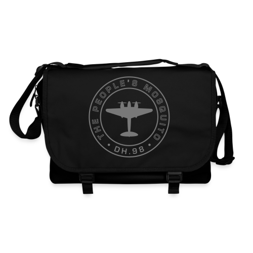 Mission Patch Shoulder Bag - Black - Shoulder Bag