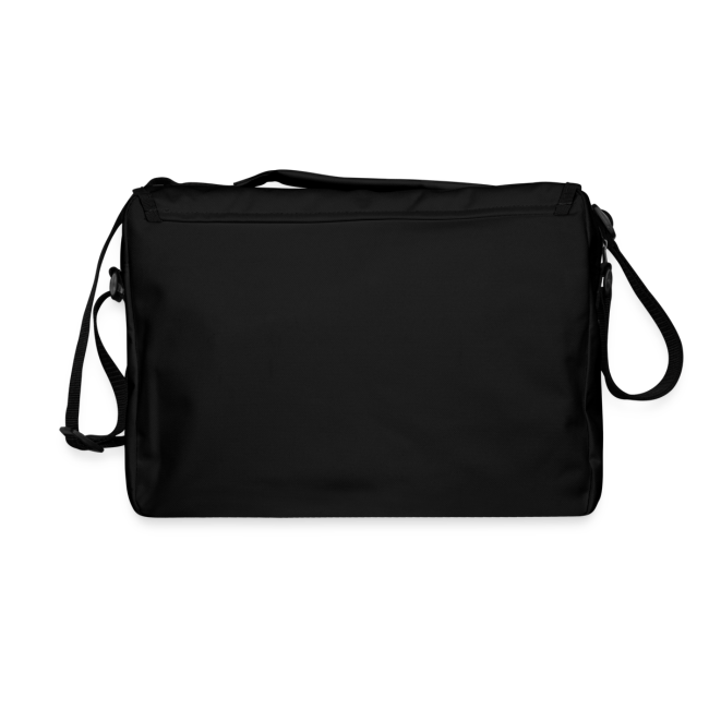 Mission Patch Shoulder Bag Black