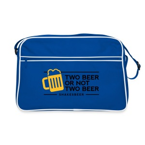 Borsa two beer - Borsa retrò