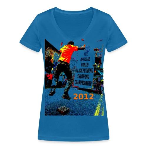 Ladies Pud Jumper - Women's Organic V-Neck T-Shirt by Stanley & Stella