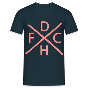 DHFC Hardcore  - Men's T-Shirt