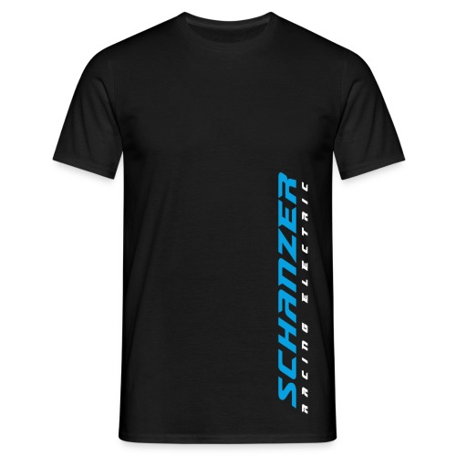 Männer T-Shirt Logo senkrecht - Männer T-Shirt