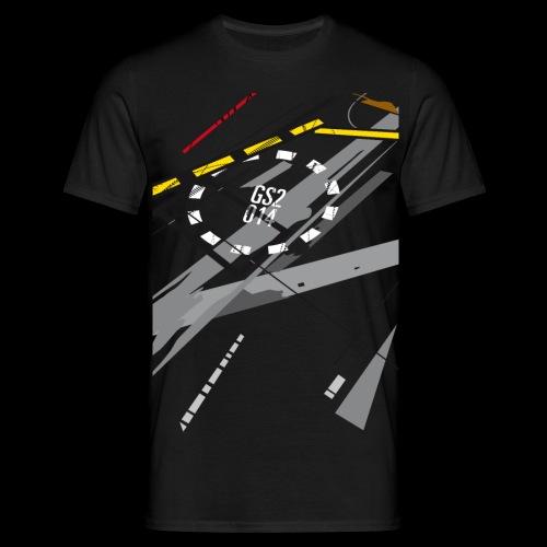 Rollfeld 55 - Männer (wide) - Männer T-Shirt