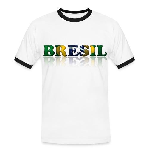 Brazil - T-shirt contrasté Homme