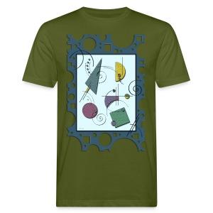 3D Art - Männer Bio-T-Shirt