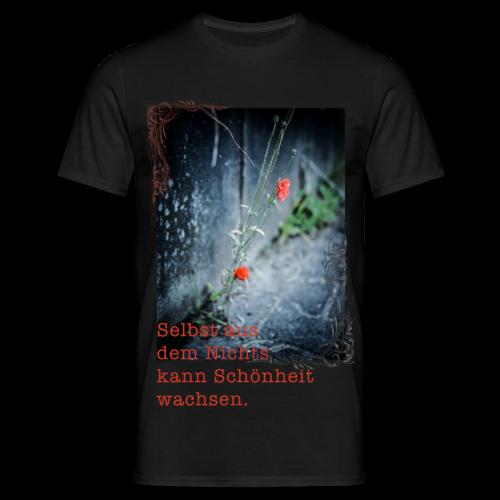 Aus dem Nichts Shirt - Männer T-Shirt