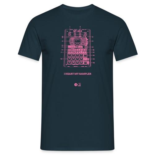 I Heart My SP-404 Pink - Men's T-Shirt