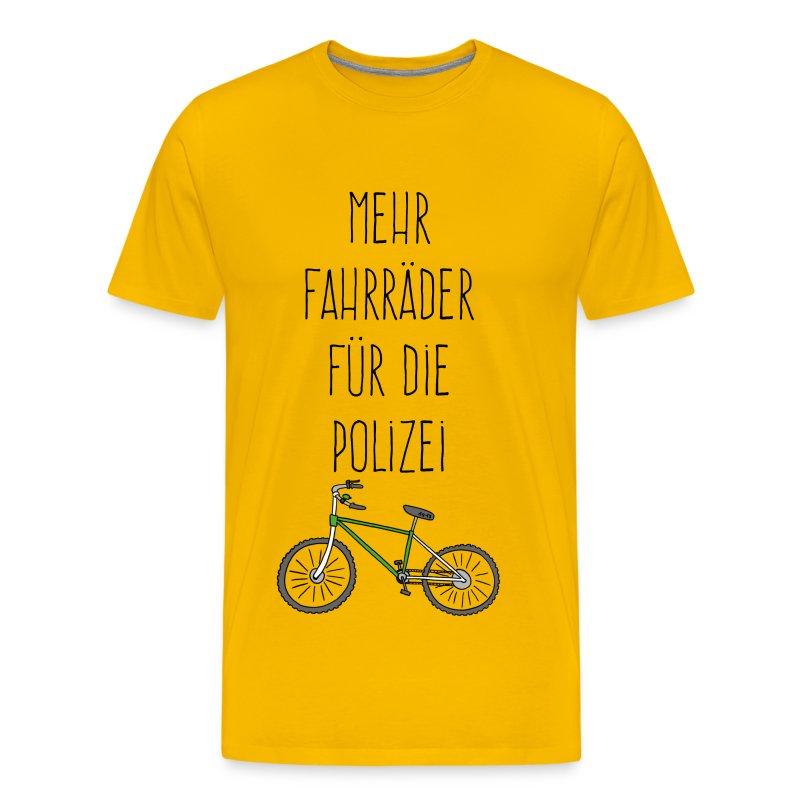Fährräder für Polizei - Männer Premium T-Shirt