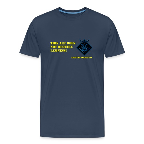 Motto-Trainingsshirt - Männer Premium T-Shirt