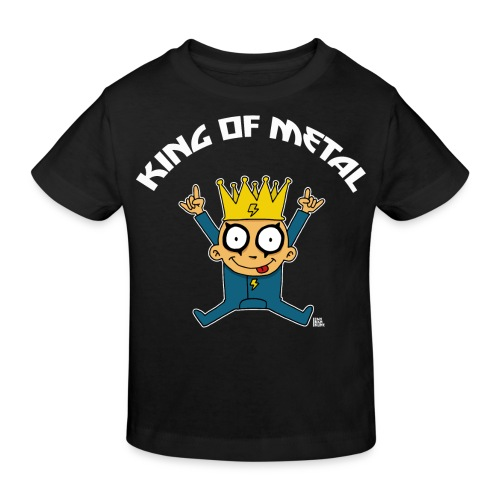 T-shirt King of Metal - T-shirt bio Enfant