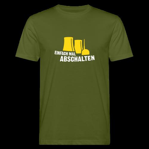 Einfach mal abschalten - Männer Bio-T-Shirt