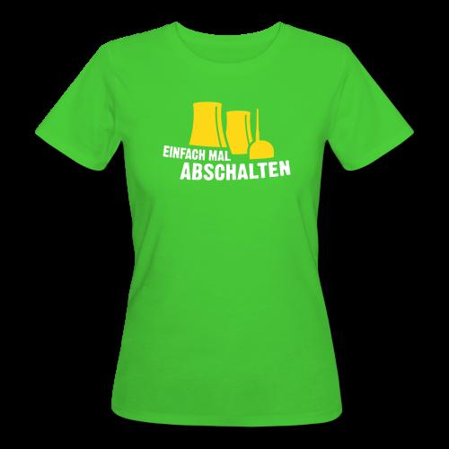 Einfach mal abschalten - Frauen Bio-T-Shirt