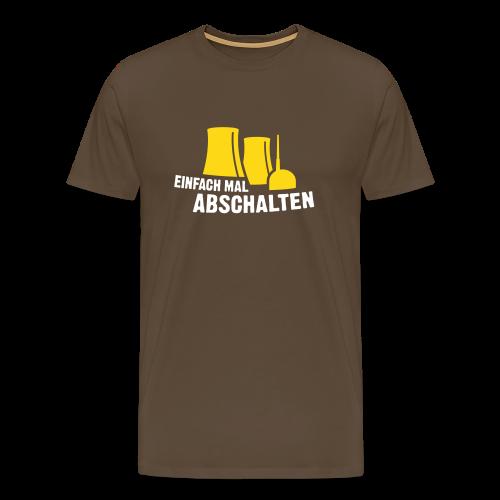Einfach mal abschalten - Männer Premium T-Shirt