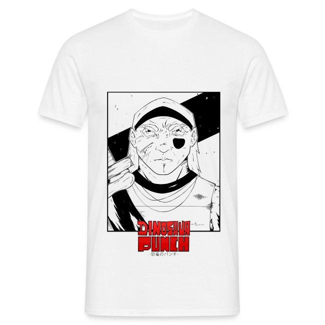 T-shirt Dinosaur Punch Shyon Homme