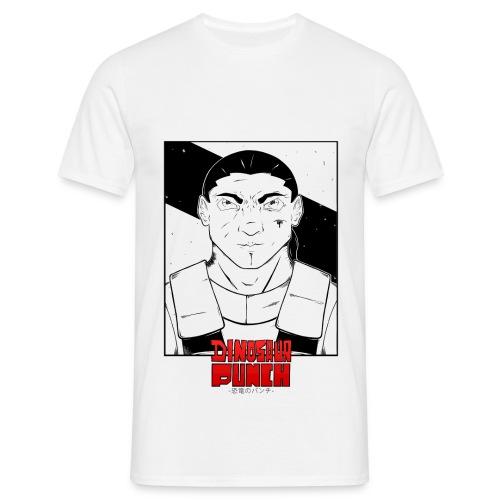 T-shirt Dinosaur Punch Eshyl Homme - T-shirt Homme