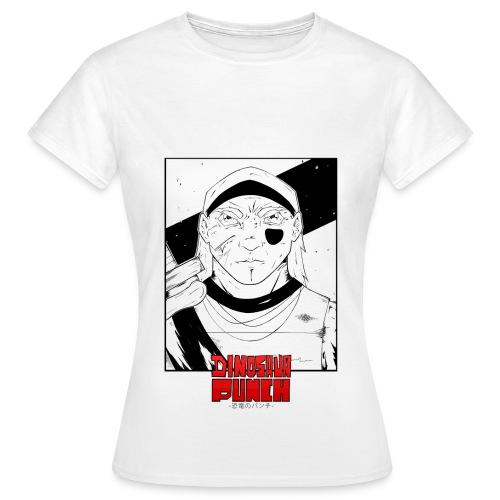T-shirt Dinosaur Punch Shyon Femme  - T-shirt Femme