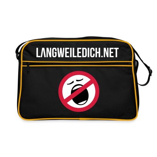 LangweileDich.net Tasche - Retro Tasche