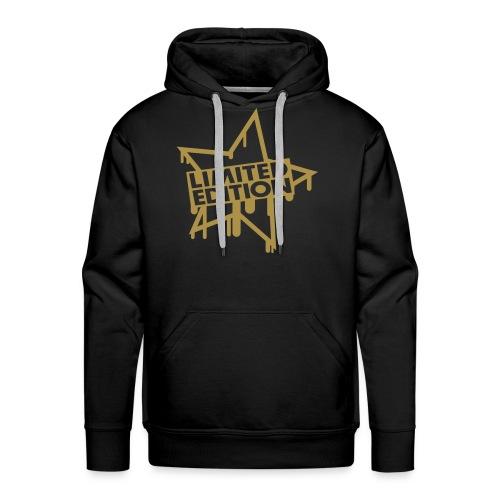 Limited Edition Star Gold Pullover - Männer Premium Hoodie