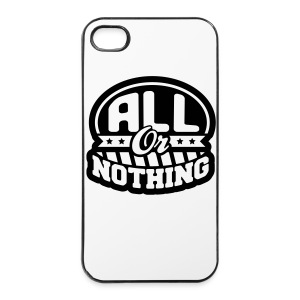 All or nothing - iPhone 4/4s Hard Case