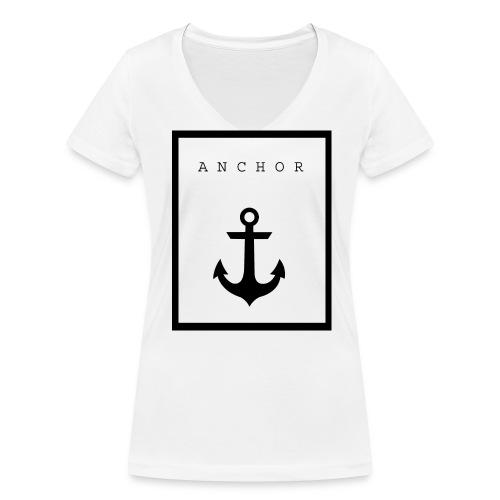 Anchor - Vrouwen bio T-shirt met V-hals van Stanley & Stella