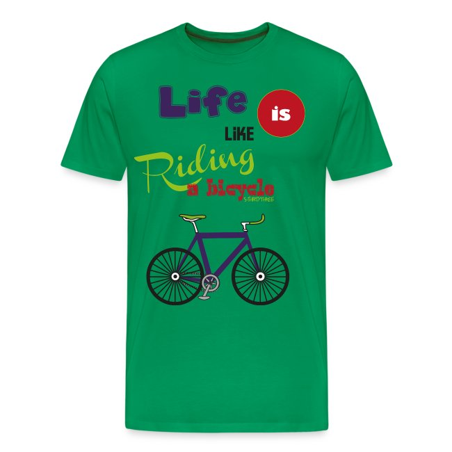 S33 life is like riding a bicycle