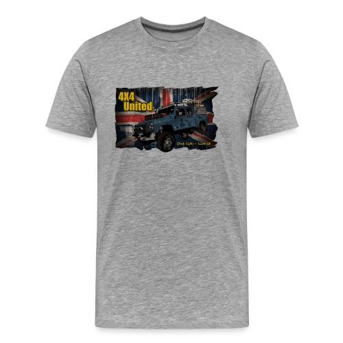 4x4 United S-3XL - Männer Premium T-Shirt