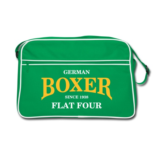German BOXER           FLAT FOUR - Retro Tasche