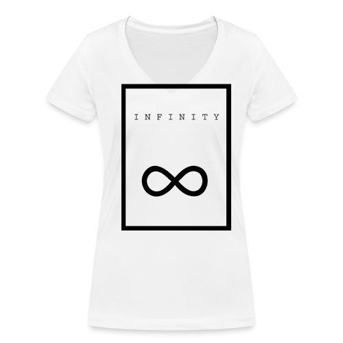 Infinity - Vrouwen bio T-shirt met V-hals van Stanley & Stella