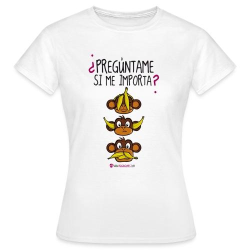 Monos - Camiseta mujer