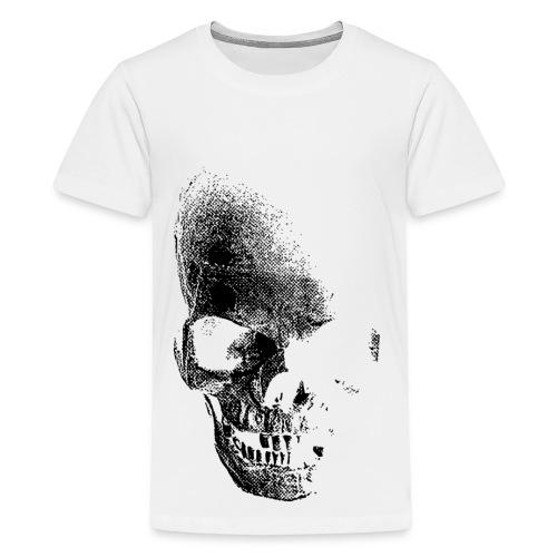 calavera camiseta (adolecente) - Camiseta premium adolescente