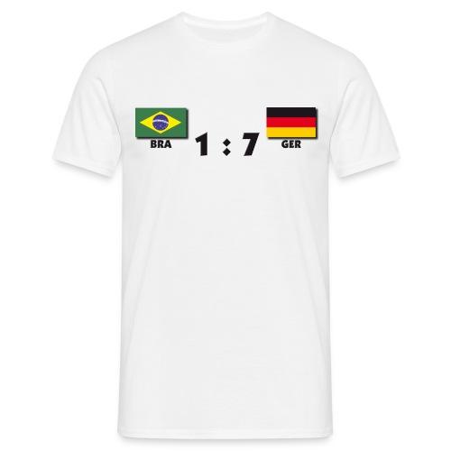 1 zu 7 - Männer T-Shirt