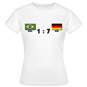 1 zu 7 - Frauen T-Shirt