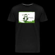 T-Shirts ~ Männer Premium T-Shirt ~ CHROMELESS // DIRTTRACK