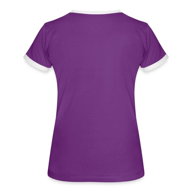 Women's Sleeping Girl Ringer T shirt