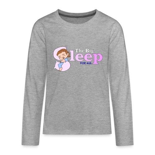Kids' TBS Pink Premium Longsleeve - Teenagers' Premium Longsleeve Shirt