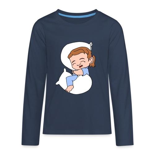 Teenagers' Sleeping Girl Premium Longsleeve - Teenagers' Premium Longsleeve Shirt