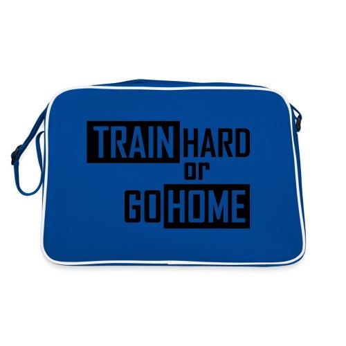 Train Hard or Go Home Bag - Retro Bag