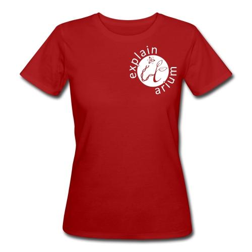 Das Tüpfelchen auf dem i - weiss - Frauen Bio-T-Shirt