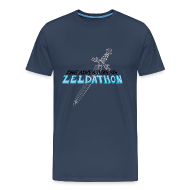 Tee shirts ~ T-shirt Premium Homme ~ The Adventure of Zeldathon - H
