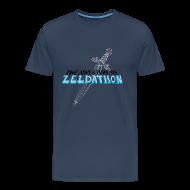 Tee shirts ~ T-shirt Premium Homme ~ The Adventure of Zeldathon - H